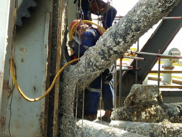 advantage marine services ship maintenance topside underwater steel fabrication engineering others